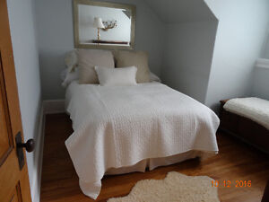 Ikea Alina Quilted Bedspread / Quilt White New