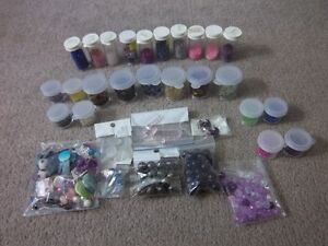 Very large amount of jewellery making supplies-NEW PRICE London Ontario image 4