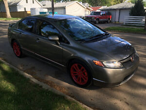 2008 Honda Civic SI, 6 speed Sedan