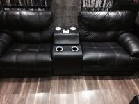 Electric Recliner real leather Entertainment chair