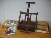 Table Sketch box Easel (Boite Chevalet) + Oil Painting Set:
