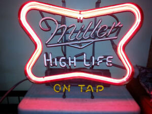 Beer Lights, Neon and other Vintage Decor Items for sale