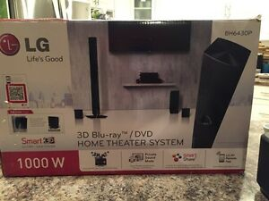 New LG 3D Blu Ray home Theatre Regina Regina Area image 1