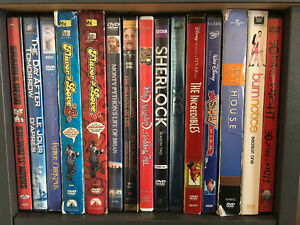 DVDs Blue Rays Box Sets and TV Show Seasons