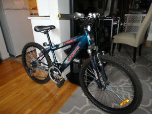 Youth Size 21 Speed Mountain Bike With Front Suspension!