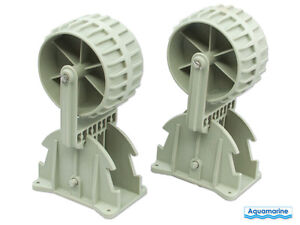 Launching wheels for inflatable or  aluminum boat