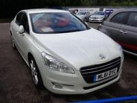 2011 61 PEUGEOT 508 2.0 HDI ALLURE FAP 4DR (160) HALF LEATHER DIESEL