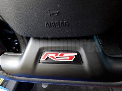 Camaro RS Steering Wheel Emblem Badge GM Licensed