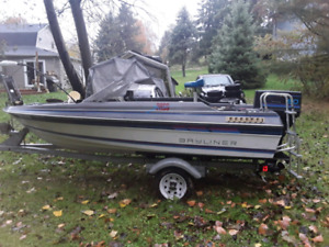 Bass boat trade for enclosed trailer