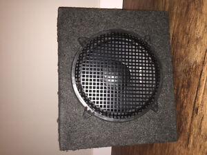 """12"""" Orion Sub, box and cage"""