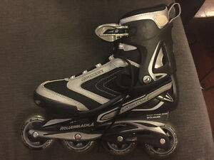 Like new size 8 men's Rollerblades