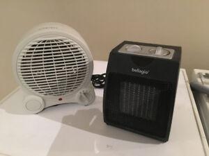 Selling two space heaters for $10 each