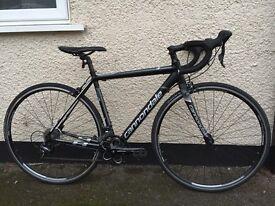 Cannondale CAAD8 road bike, Sora build, 48 cm frame