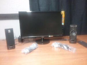 """24"""" ASUS Monitor  including speakers"""