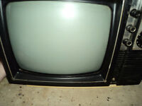 """13"""" Sears Black and White TV"""