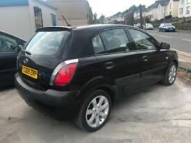 2009 (09 reg) KIA RIO 1.4 Black 5dr Hatchback Petrol 5 Speed Manual
