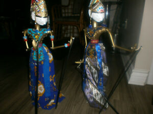 Indonesian Puppets. London Ontario image 3