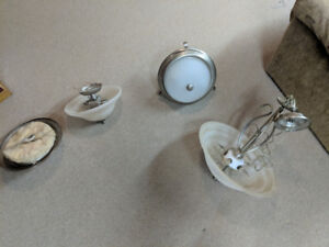 Miscellaneous ceiling lights.