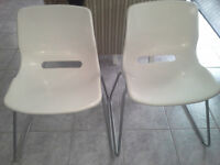 IKEA SNILLE STACKABLE DINNING CHAIRS 4
