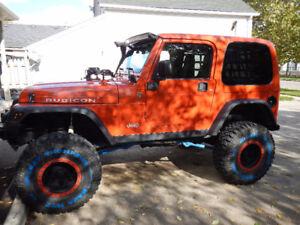 2005 Jeep TJ Wrangler Rubicon 6 speed