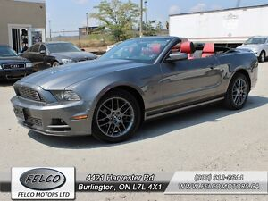 2014 Ford Mustang Covertible - 6 SPEED | LEATHER | AMAZING DEAL