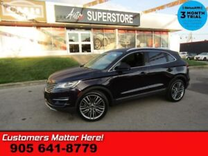 2015 Lincoln MKC Reserve  4X4 ADAPT CRUISE CTL SELF PARKING NAV