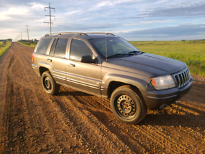 2002 jeep grand Cherokee overland edition