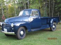 For sale 1951 GMC Pickup with Hoist