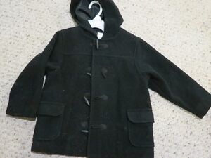 Gymboree Black Pea Coat - Size 4