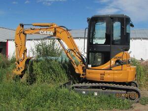 Case CX36B Mini Excavator