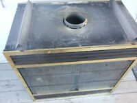 GAS/PROPANE DOUBLE SIDED FIREPLACE INSERT; Sale/trade