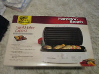 New !!! Hamilton Beach® Meal Maker® Express Indoor Grill