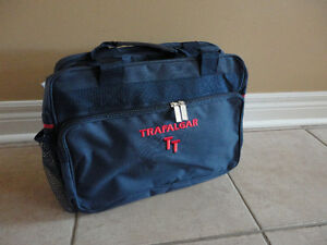 Brand new with tags Trafalgar navy blue cabin travel bag London Ontario image 1