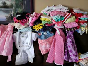BABY GIRL CLOTHES 3-6 6-9 9-12