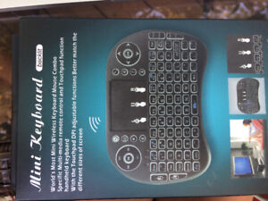 RoHS Mini Keyboard Multi -media remote control