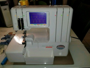 Janome Compulock 888 serger machine