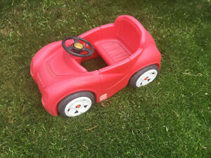 Outside play car