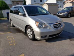 Honda Odyssey EX 2009 Silver color