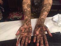 Henna (Mehndi) artist
