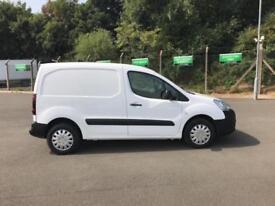 Peugeot Partner L1 850 S 1.6 92PS (SLD) EURO 5 DIESEL MANUAL WHITE (2016)