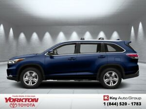 2015 Toyota Highlander LE  -  Bluetooth - $229.06 B/W