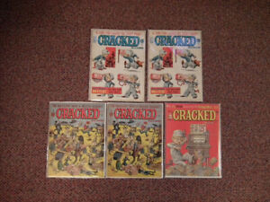 Very Old Cracked Magazines