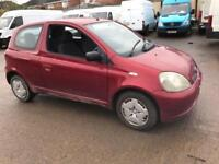 Toyota Yaris 1.0 VVTi Colour Collection 3 DOOR - 2003 03-REG - 6 MONTHS MOT