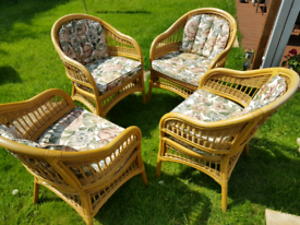 Conservatory/Patio chairs, PRICE REDUCED!