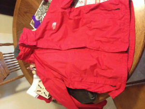 Men's Large Red North Face Jacket
