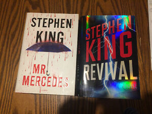 2 Stephen King Hardcover Books-Like New condition!