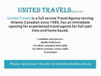 Travel Agents needed.