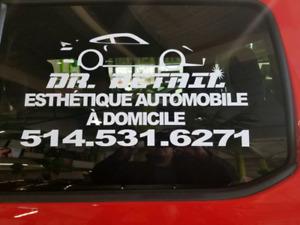 Dr.Detail esthétique automobile a domicile !