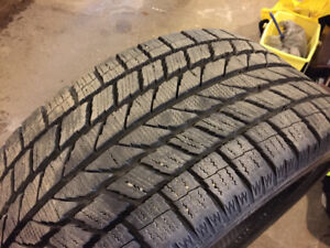 19 inch snow tires...low profile