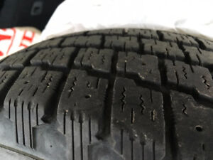 """24"""" Used Winter Tires x4 - 185/70R14 - Fit 2004 Civic - No Rims!"""